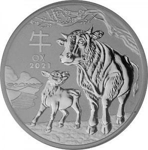 Lunar III Year of the Ox 1oz Silver - 2021