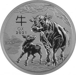 Lunar III Year of the Ox 1/2oz Silver - 2021
