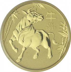 Lunar III Year of the Ox 1oz Gold - 2021