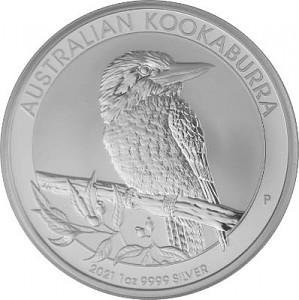 Kookaburra 1oz Silver - 2021