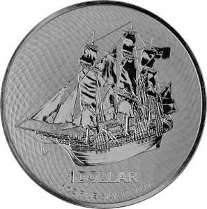 Cook Islands 1oz Silver - 2020
