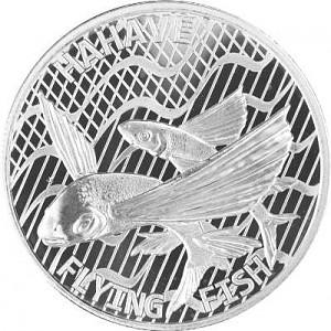Tokelau Flying Fish - Hahave Fly Fish 1oz Silver - 2020