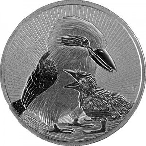 Australia Next Generation Piedfort Kookaburra 2oz Silver - 2020