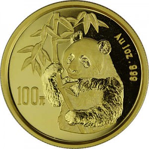Chinese Panda 1oz Gold - 1995