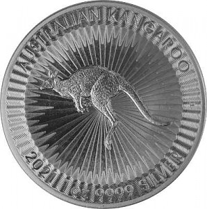 Australian Kangaroo 1oz Silver - 2021