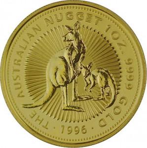 Australian Kangaroo 1oz Gold - 1996