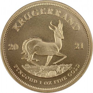 Krugerrand 1oz Gold - 2021