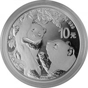 China Panda 30g Silver - 2021