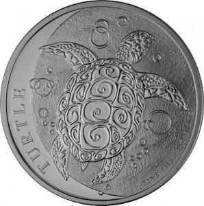 Niue Hawksbill Turtle 1oz Silver - 2021