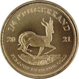 Krugerrand 1/4oz Gold - 2021