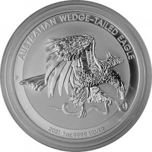Australian Wedge Tailed Eagle 1oz Silver - 2021