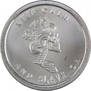 SBSS Slave Queen 1oz Silver