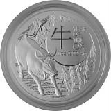 Lunar Ox Royal Australien Mint 1oz Silver - 2021