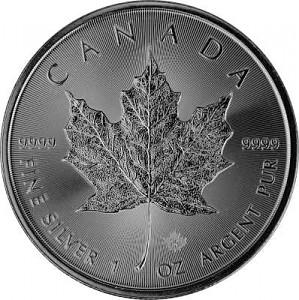 Maple Leaf 1oz Silver - 2021