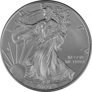 American Eagle 1oz Silver - 2021