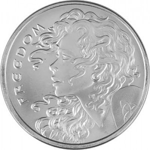 SBSS Freedom Girl 1oz Silver