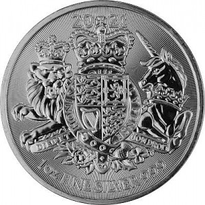 Great Britain Royal Arms 1oz Silver - 2021