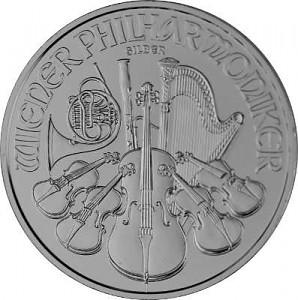 Vienna Philharmonic 1oz Silver - 2021