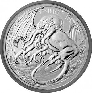 Tokelau The Great Old One - Cthulhu 1 oz Silver - 2021