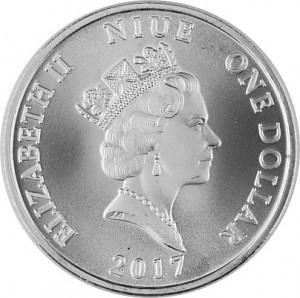 Niue Guardian Angel 1oz Silver - 2017