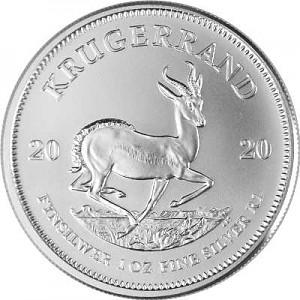 Krugerrand 1oz Silver - various years
