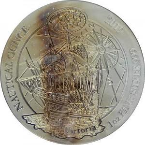 Rwanda Nautical Series - 500 years of Victoria 1oz Silver - 2019 B-Stock