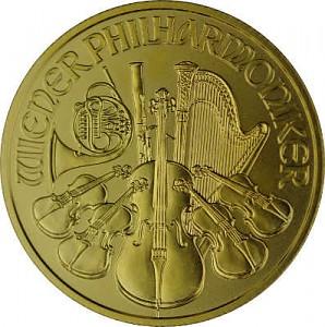 Vienna Philharmonic 1/4oz Gold - 2021