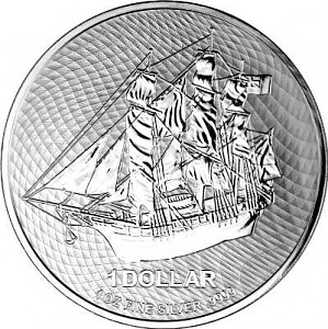 Cook Islands 1oz Silver - 2021