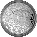 Tokelau Hedgehog Fish 1oz Silver - 2021