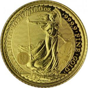 Britannia 1/10oz Gold - 2021