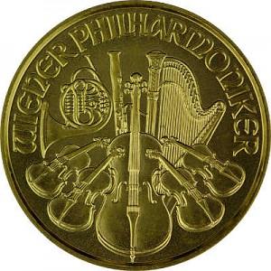 Vienna Philharmonic 1/10oz Gold - 2021