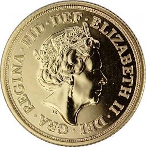 1 Pound Sovereign Elisabeth II 7,32g Gold - 2021