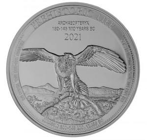 Congo World's Wildlife - Bald Eagle 1oz Silver - 2021