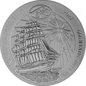 Rwanda Nautical Series - Sedow 1oz Silver - 2021 (standard taxation)