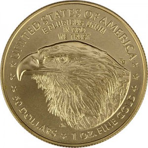 American Eagle Type 2 new design  1oz Gold - 2021