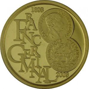 100 Euro 1/2oz Gold Begium Albert II - 2003
