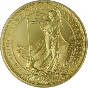 Britannia 1/4oz Gold 1987 - 2012