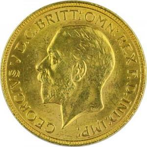 1 Pound Sovereign George V 7,32g Gold