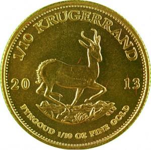 Krugerrand 1/10oz Gold