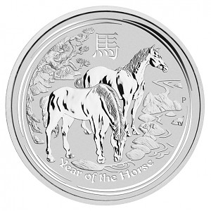 Lunar II Year of the Horse 1kg Silver - 2014