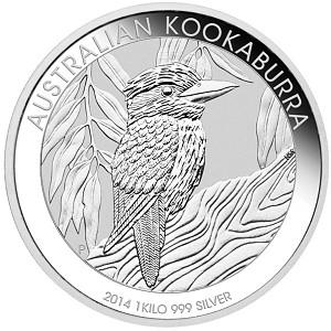 Kookaburra 1kg Silver - 2014