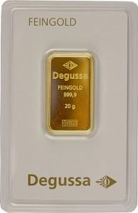 Gold Bar 20g - Various Manufacturers