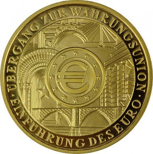 200 Euro 1oz Gold  2002 Introduction of the Euro