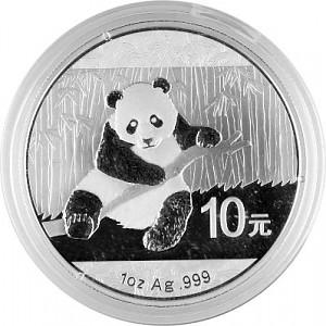 China Panda 1oz Silver - 2014