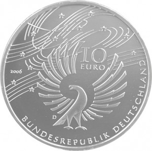 10 Euro Commemorative Coin Germany 16,65g Silver 2002 - 2010