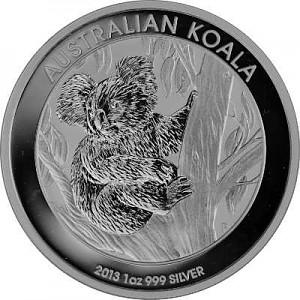 Koala 1oz Silver - 2013