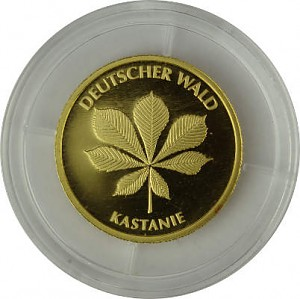20 Euro Gold German Forest Chestnut 3,88g Gold - 2014