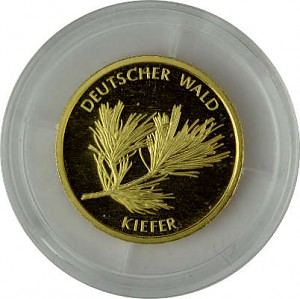 20 Euro Gold German Forest Pine Tree 3,88g Gold - 2013