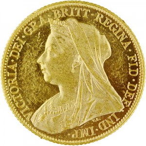 1 Pound Sovereign Victoria Various Motives 7,32g Gold