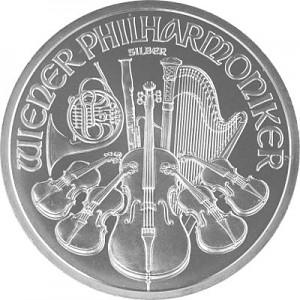 Vienna Philharmonic 1oz Silver (Standard Taxation)